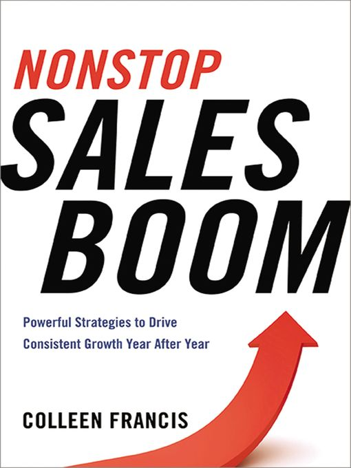 Title details for Nonstop Sales Boom by Colleen Francis - Available