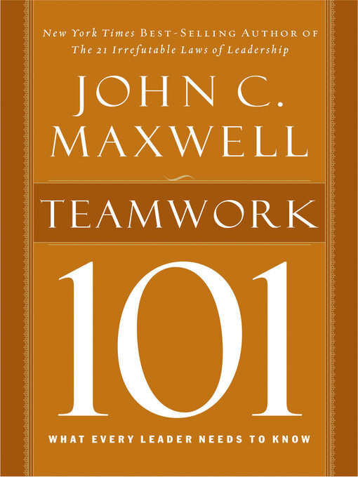 Cover of Teamwork 101