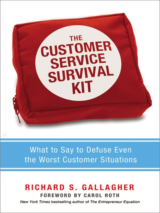 Title details for The Customer Service Survival Kit by Richard Gallagher - Available