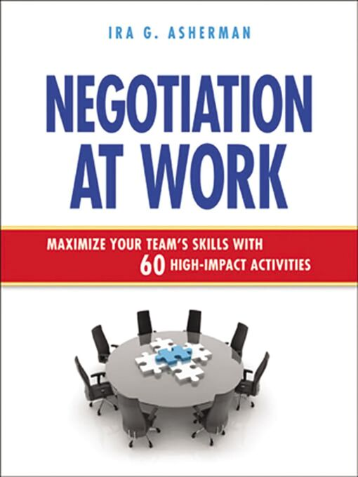 Cover of Negotiation at Work