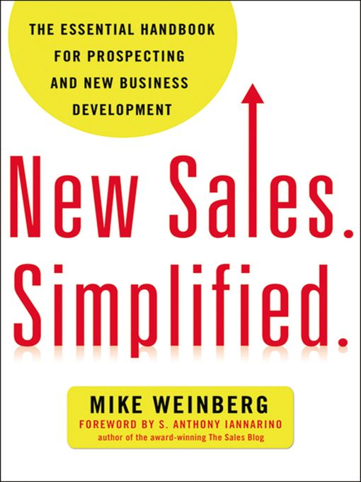 Cover of New Sales. Simplified.
