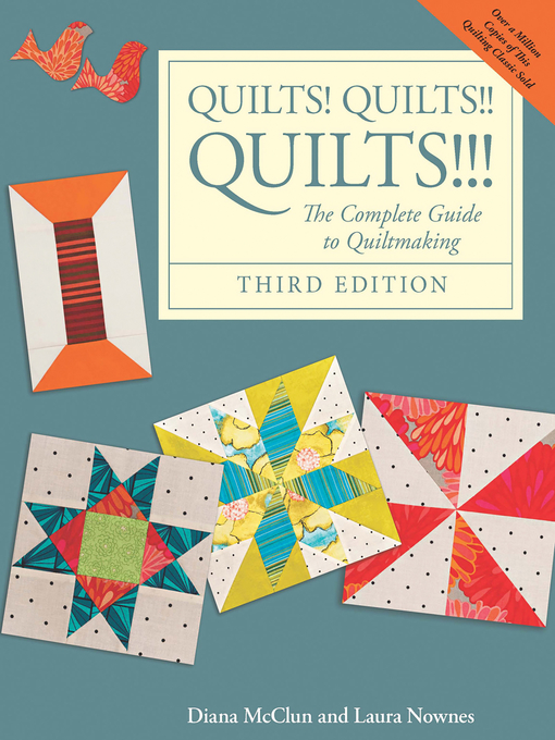 Title details for Quilts! Quilts!! Quilts!!! by Diana McClun - Wait list
