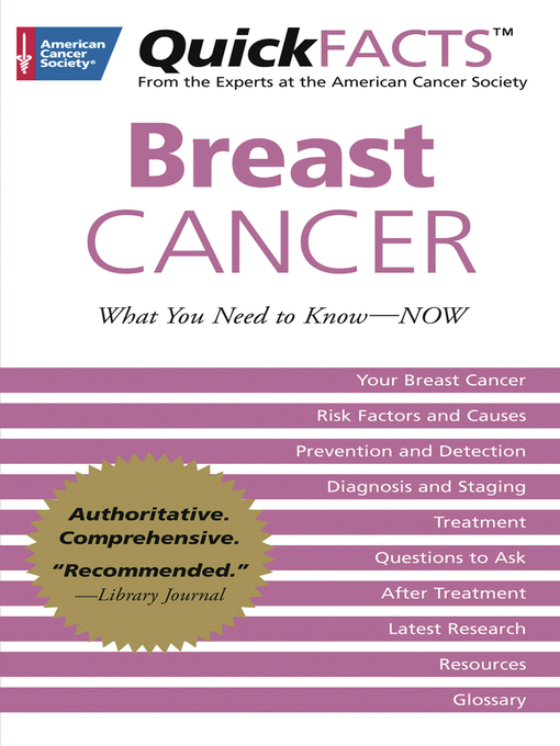 Title details for QuickFACTS Breast Cancer by American Cancer Society - Available