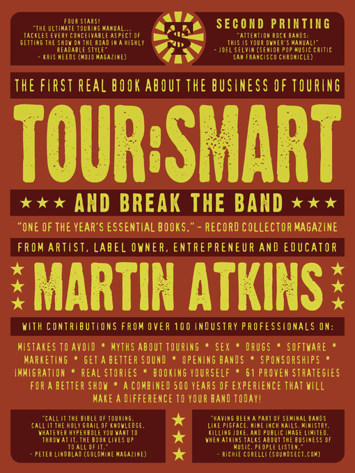 Title details for Tour: Smart by Martin Atkins - Available