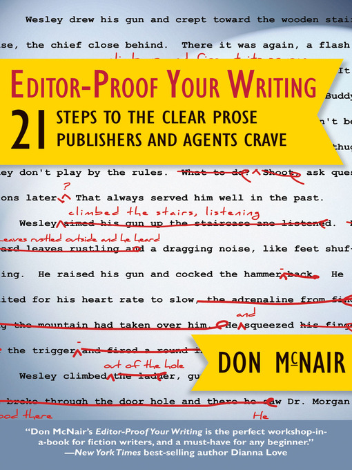 Title details for Editor-Proof Your Writing by Don McNair - Available