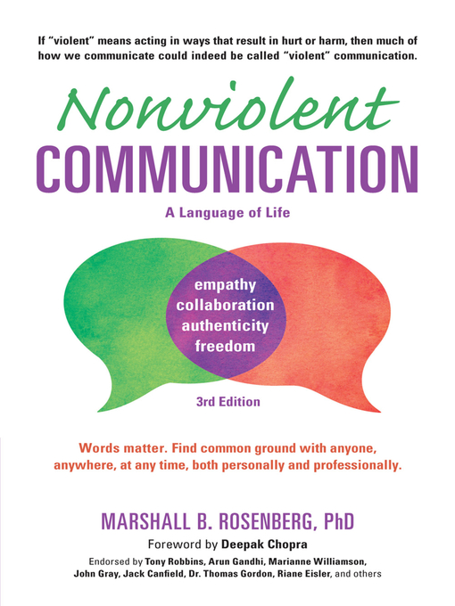 Title details for Nonviolent Communication by Marshall B. Rosenberg - Available