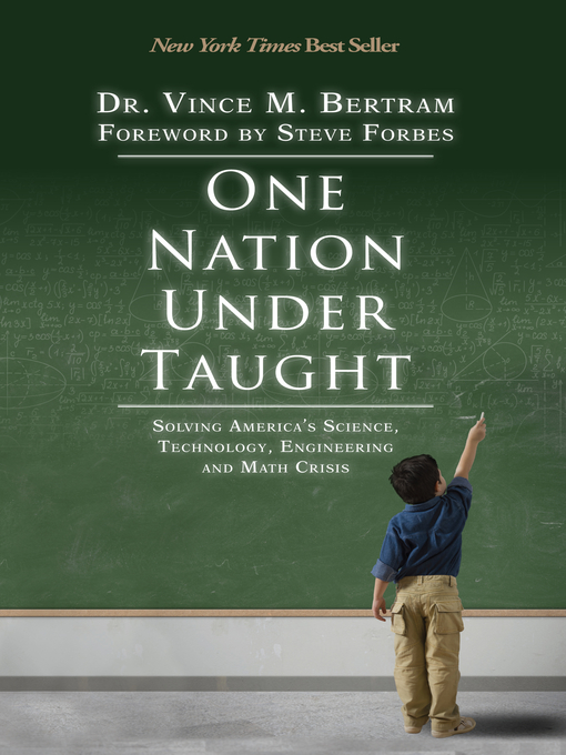 Title details for One Nation Under Taught by Dr. Vince M. Bertram - Available