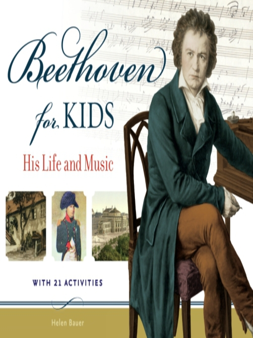 Cover of Beethoven for Kids