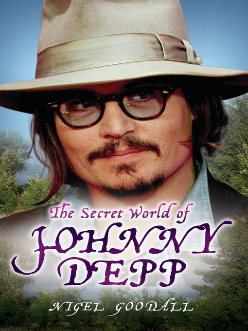 Cover image for The Secret World of Johnny Depp