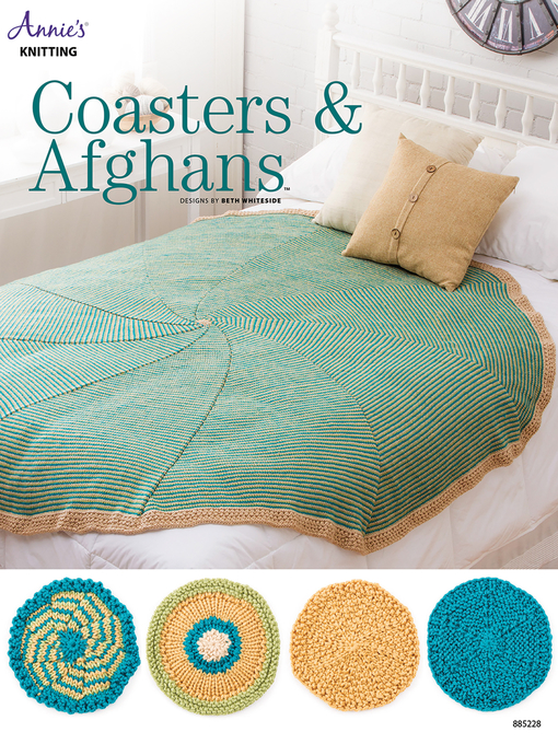 Cover of Coasters & Afghans Knit Pattern