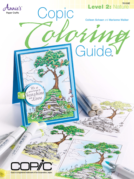 Title details for Copic Coloring Guide Level 2 by Colleen Schaan - Available