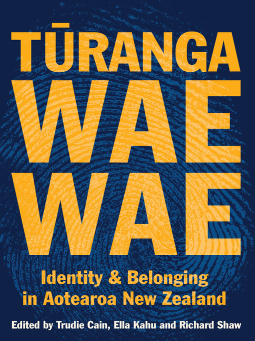 Title details for Turangawaewae by Trudie Cain - Wait list