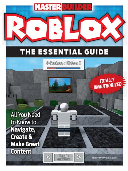 Title details for Master Builder Roblox by Triumph Books - Wait list