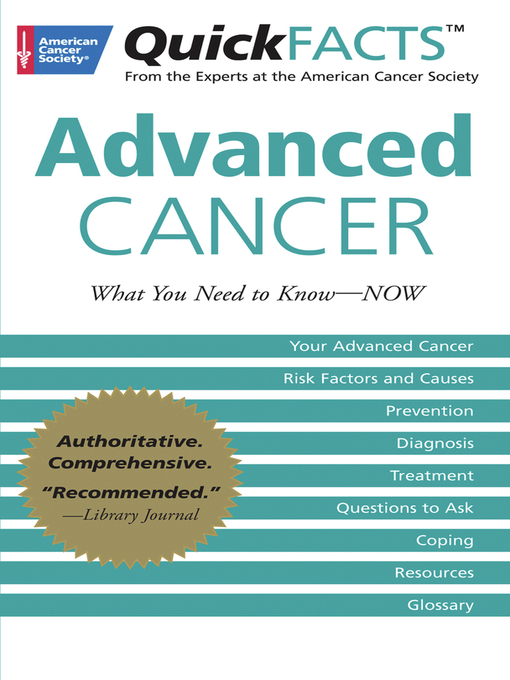 Title details for QuickFACTS Advanced Cancer by American Cancer Society - Available