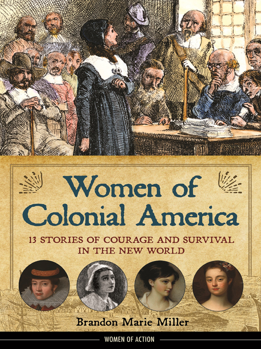 Cover of Women of Colonial America