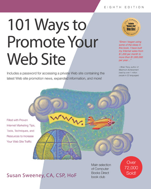Title details for 101 Ways to Promote Your Web Site by Susan Sweeney - Available