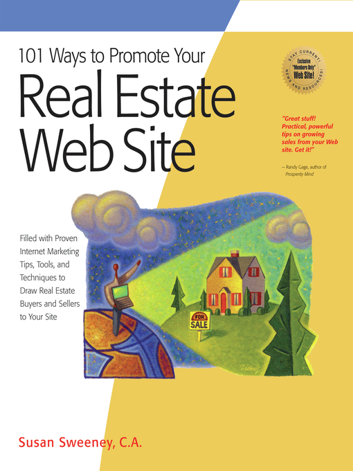 Title details for 101 Ways to Promote Your Real Estate Web Site by Susan Sweeney - Available