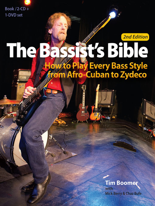 Title details for The Bassist's Bible by Tim Boomer - Available