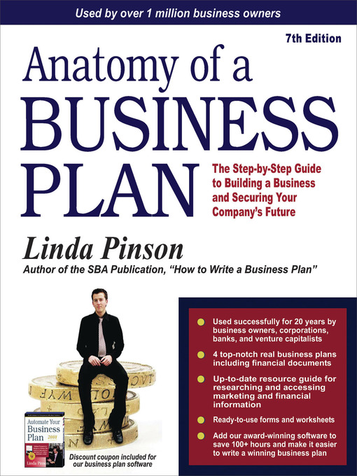 Title details for Anatomy of a Business Plan by Linda Pinson - Available