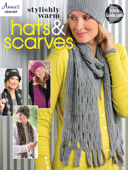 Cover of Stylishly Warm Hats & Scarves