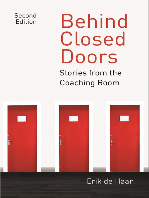 Title details for Behind Closed Doors by Erik de Haan - Available