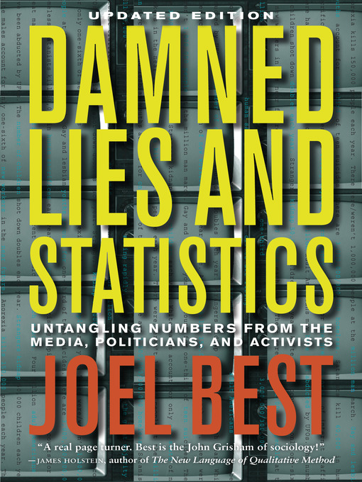 Cover of Damned Lies and Statistics