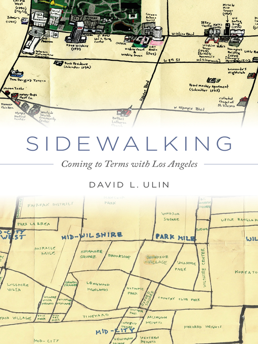 Title details for Sidewalking by David L. Ulin - Available