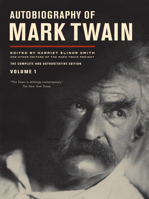 Title details for Autobiography of Mark Twain by Mark Twain - Available