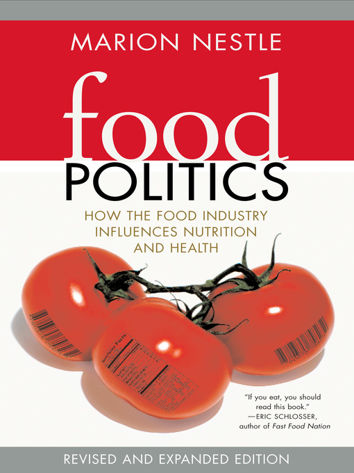 Cover of Food Politics