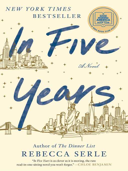 Title details for In Five Years by Rebecca Serle - Available