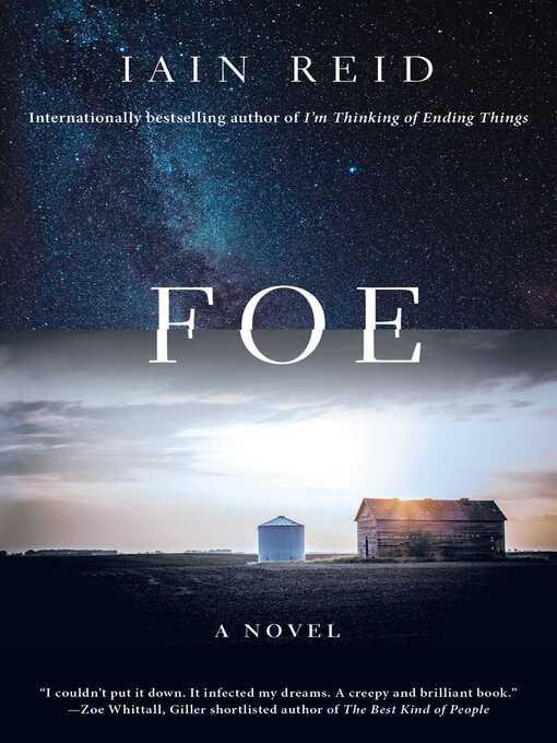 Title details for Foe by Iain Reid - Wait list