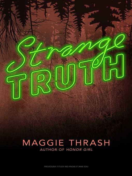 Title details for We Know It Was You by Maggie Thrash - Wait list