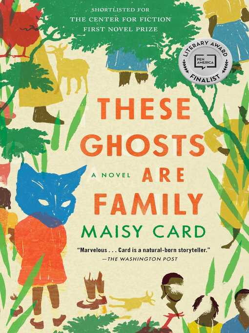 Title details for These Ghosts Are Family by Maisy Card - Wait list