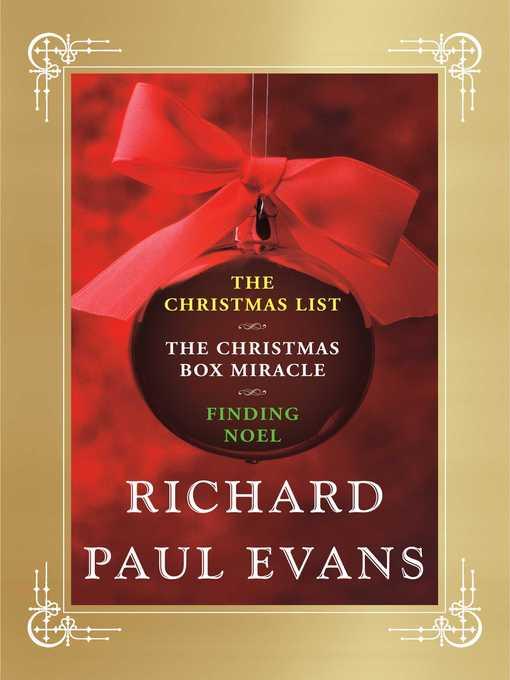 Title details for Richard Paul Evans Ebook Christmas Set by Richard Paul Evans - Wait list