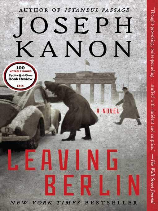 Title details for Leaving Berlin by Joseph Kanon - Wait list
