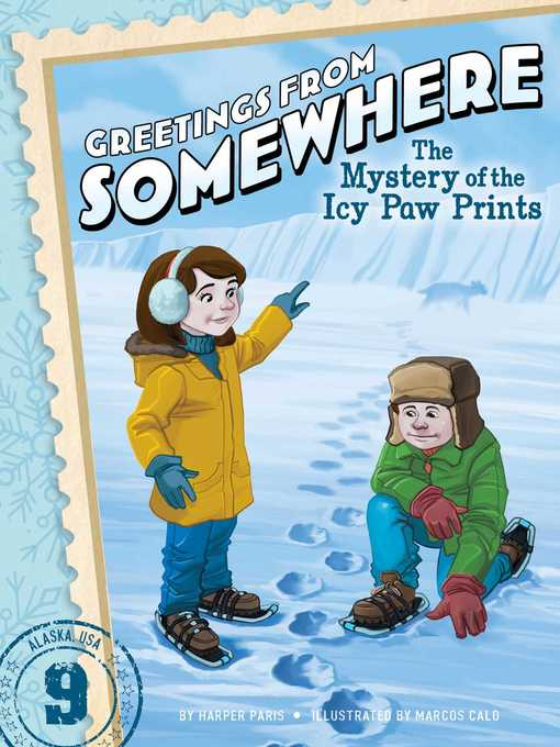 Title details for The Mystery of the Icy Paw Prints by Harper Paris - Wait list