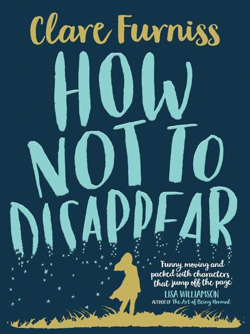 Title details for How Not to Disappear by Clare Furniss - Wait list