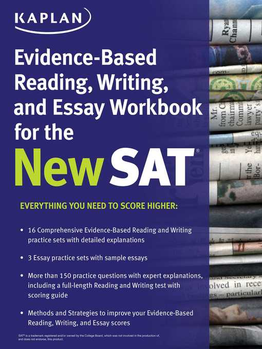 sat essay evidence Sat essay practice: jimmy carter name: • evidence, such as facts or write an essay in which you explain how jimmy carter builds an argument to persuade his.