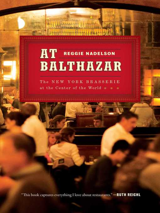 Cover of At Balthazar