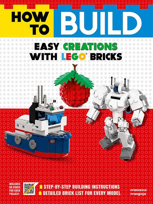 How To Build Easy Creations With Lego Bricks Media On Demand