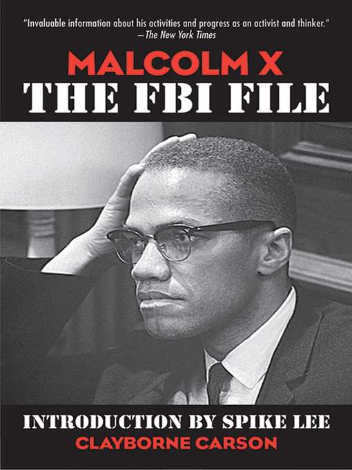 Title details for Malcolm X by Clayborne Carson - Available