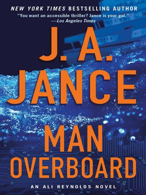 Title details for Man Overboard by J.A. Jance - Wait list