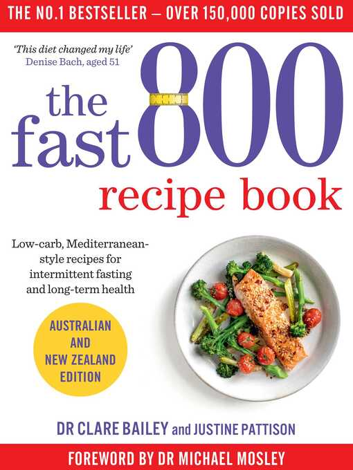 Title details for The Fast 800 Recipe Book by Dr Clare Bailey - Wait list