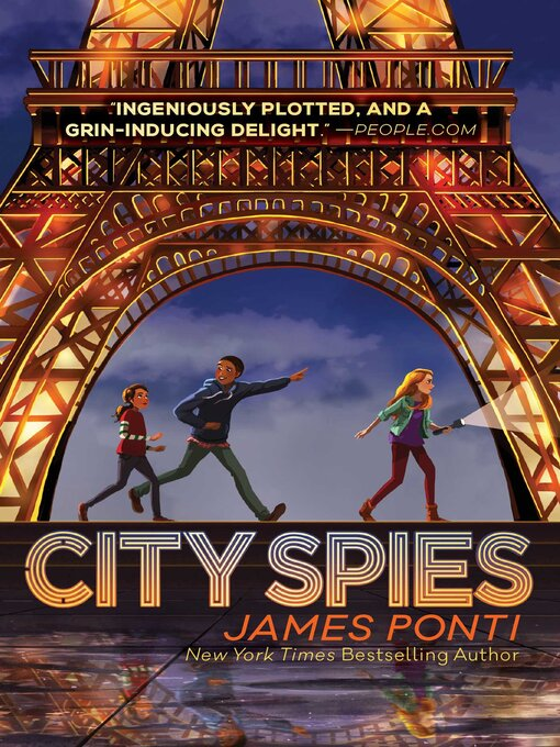 Title details for City Spies by James Ponti - Wait list