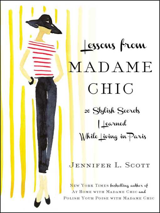 Title details for Lessons from Madame Chic by Jennifer L. Scott - Wait list