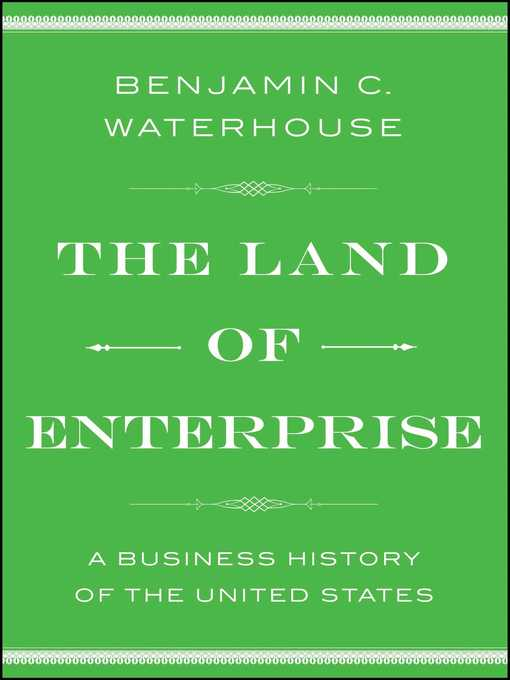 Cover of The Land of Enterprise