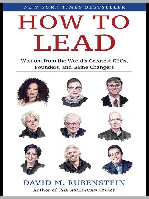Title details for How to Lead by David M. Rubenstein - Wait list