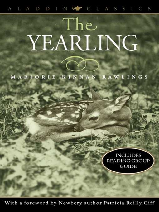 Title details for The Yearling by Marjorie Kinnan Rawlings - Available