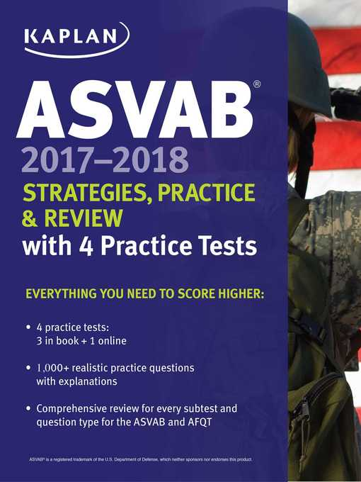 Title details for ASVAB 2017-2018 Strategies, Practice & Review with 4 Practice Tests by Kaplan Test Prep - Available