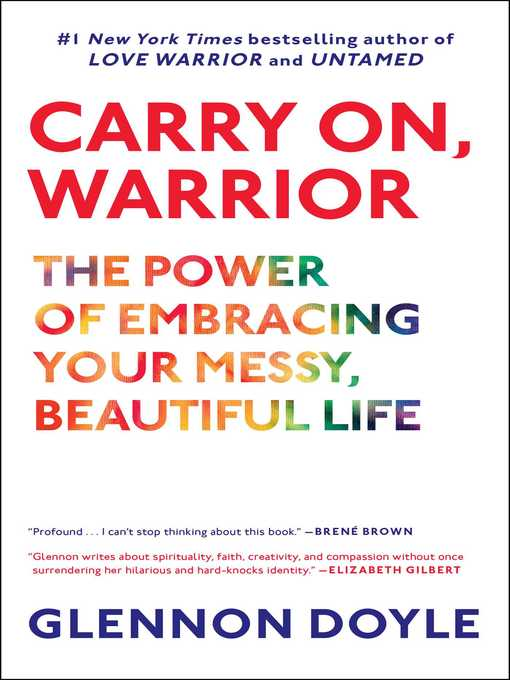 Title details for Carry On, Warrior by Glennon Doyle Melton - Available
